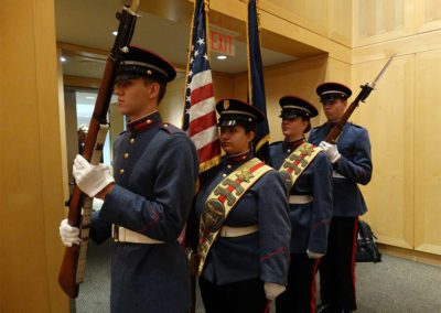 Valley Forge Military Academy and College Color Guard